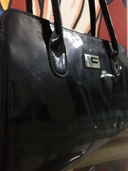 Bolsa Gucci Original Envernizada Preta
