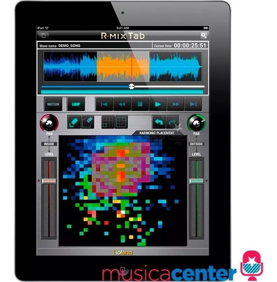 Roland R-mix Software Processamento De Áudio P/ Mac Pc iPad