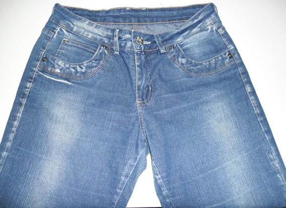 Calça Jeans Sawary 40 Feminina Feminino Promocao Oferta