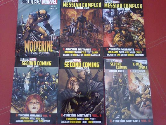 Biblioteca Marvel Wolverine X-men Hombres X Español