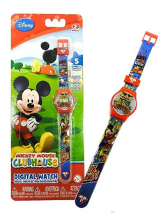 Reloj Digital 5 Funciones Personajes Disney - Intek