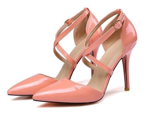 Sapato Feminino Asumer 45940 Importado Frete Grátis