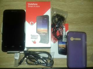 Celular Marca Vodafone Liberado Con Auriculares Inalambrico