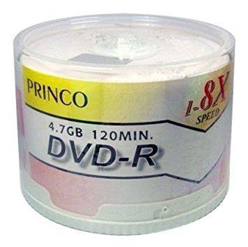 Kit 50 Dvds - Dvd-r 4.7gb 120 Min. Princo Budget