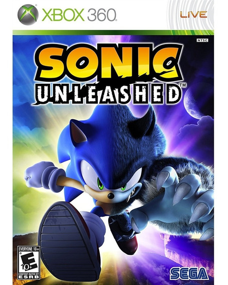 Sonic Unleashed Xbox 360 Mídia Física Lacrado Original Novo