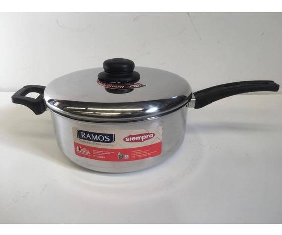 Cacerola Aluminio C/mango 24cm Ramos Siempra Brasil