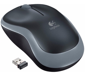 Mouse Sem Fio Logitech M185 Com Nano Receptor Usb