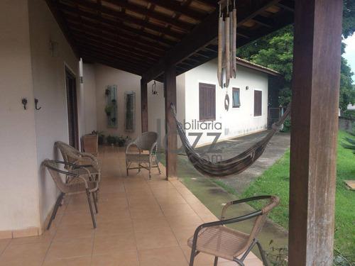 Chácara Com 4 Dormitórios À Venda, 1040 M² Por R$ 695.000 - Morada Dos Pássaros - Itatiba/sp - Ch0215