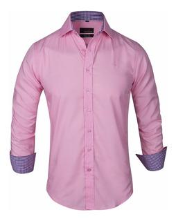 Camisa Entallada Slim Fit Elas Z412 - Quality Import Usa