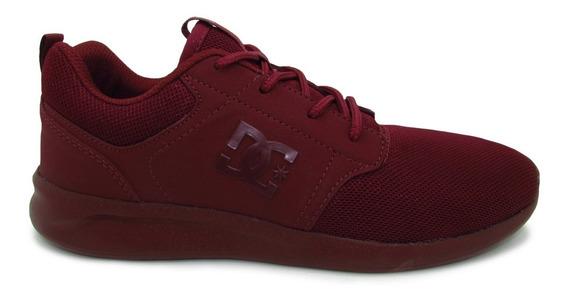 Tenis Dc Shoes Midway Sn Mx Adys700136 Crn Cabernet Vino