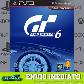 Gran Turismo 6 Ps3 Psn Game Digital Envio Rápido.
