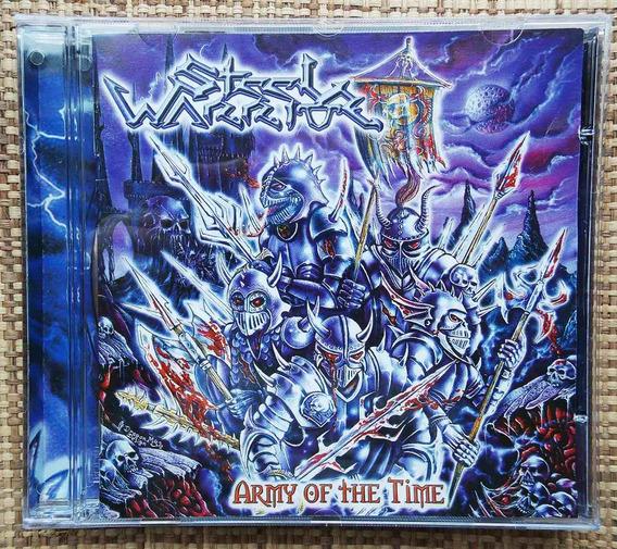 Cd Steel Warrior - Army Of The Time / Disco Raro