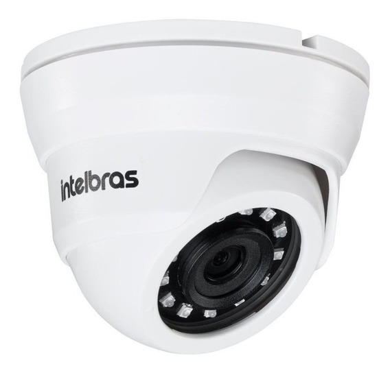 Camera Dome Ip Vip 1020d 1mp 2,6mm 720p Hd Intelbras