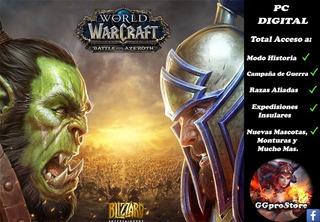 World Of Warcraft Battle For Azeroth Edición Estándar