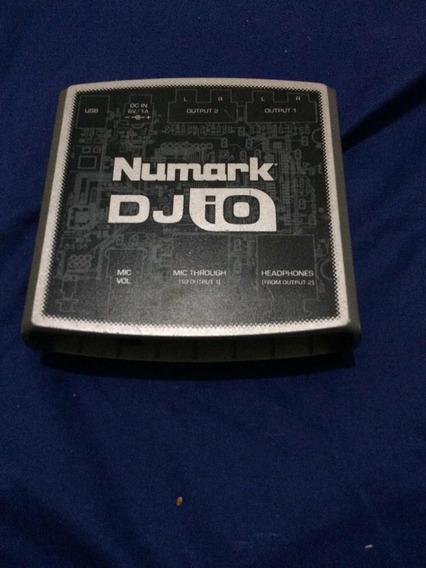 Placa De Som Dj Io Numark