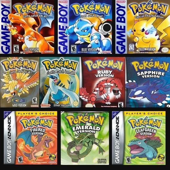 15 Jogos Pokémon Pc Gameboy (português) + Emulador (e-mail)