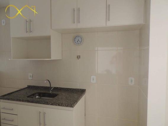 Apartamento Com 2 Dormitórios Para Alugar, 60 M² Por R$ 1.000,00/mês - João Aranha - Paulínia/sp - Ap0802