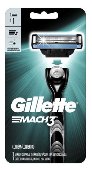 Aparelho De Barbear Gillette M3 Reg
