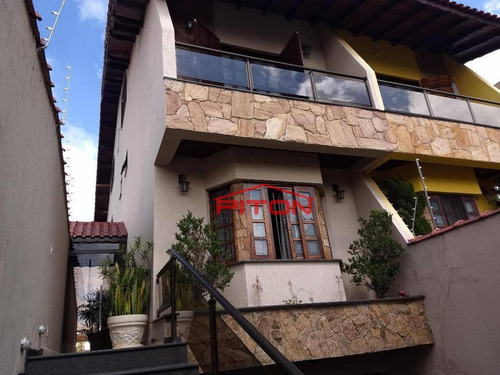 Imagem 1 de 19 de Sobrado Com 3 Dormitórios À Venda, 310 M² Por R$ 1.100.000,00 - Penha - São Paulo/sp - So0375