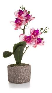 Planta Artificial Orquídea De 45 Cm Pm-4712323