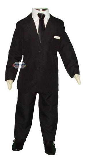 Terno Roupa Infantil Conjunto Completo Camisa Gravata Cinto