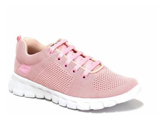 Zapatillas Mujer Deportivas Soft Cordon Livianas 36/41 4000s