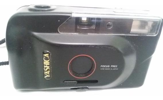Câmera Fotográfica Yashica Md 135 Ae - Maquina Antiga