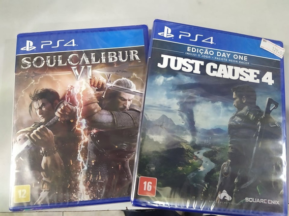 Soul Calibur Vi Ps4 + Just Cause 4 Ps4