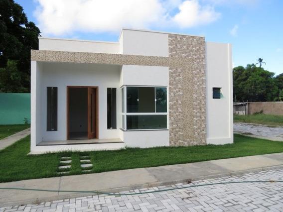 Casa Em Condomínio Com 3 Quartos Para Comprar No Barra Do Jacuípe Em Camaçari/ba - 342
