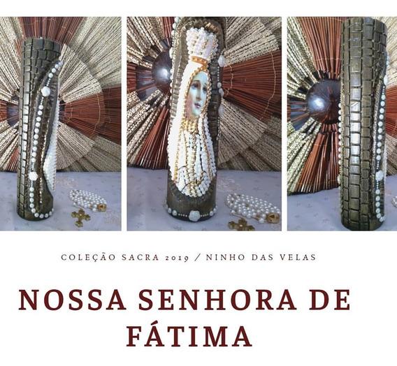 Vela Nossa Senhora De Fátima Parafina