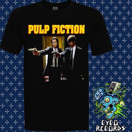 Imagen 1 de 3 de Pulp Fiction - 2 - Peliculas De Culto - Polera- Cyco Records