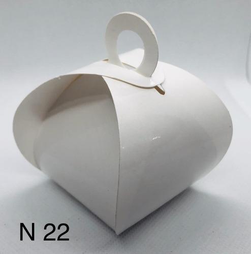 Imagem 1 de 11 de 120 Caixinhas Para Bem Casado Lembrancinha Cor Branco