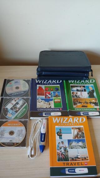 Livros Wizard Inglês W2, W4 E W6 + Wizpen Completo (usado)