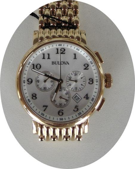 Relógio Bulova Masculino Chronograph - Wb21221h