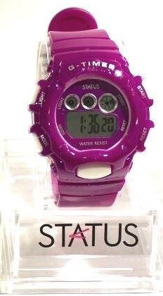 Reloj Sumergible Digital Status Con Crono Y Funciones 607b