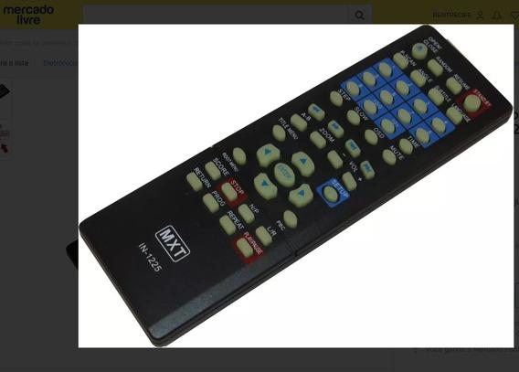 Controle Remoto Mxt C01124 Dvd In-1225 Lenox Dk 417