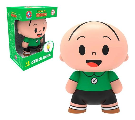 Boneco Toy Art Cebolinha Turma Da Mônica Estrela Vinil
