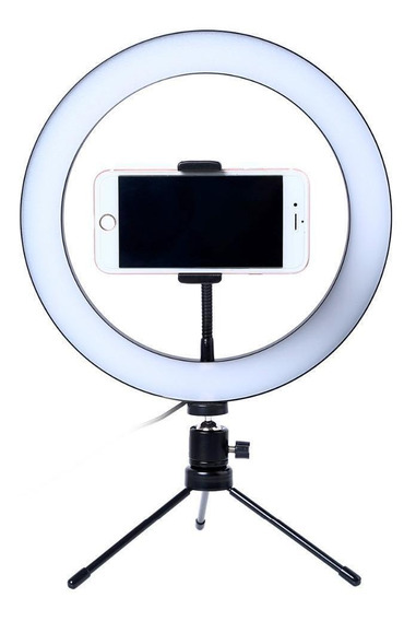 Led Para Fotos Ring Litgh 26cm