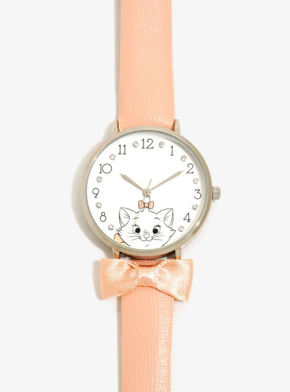 Reloj Dama Disney Aristogatos Marie Cute Original Hottopic