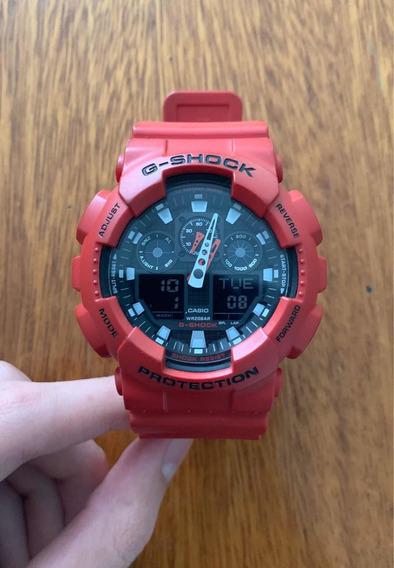 Relógio Casio G-shock Vermelho