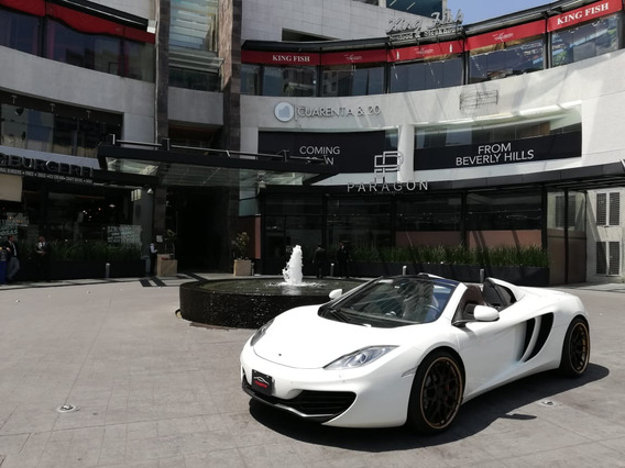 Mclaren Mp4-12c Spider 2014 Blanco