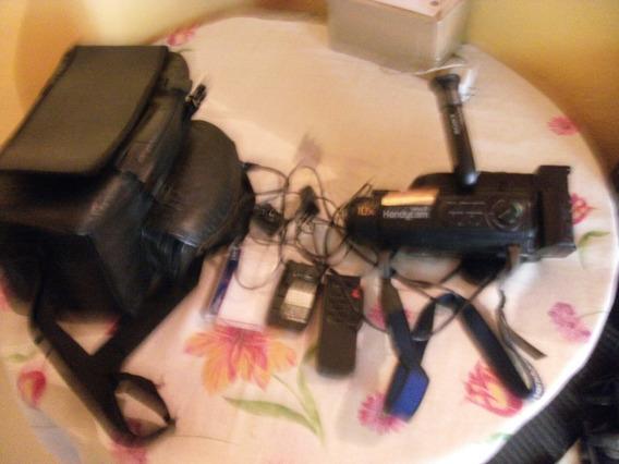 Antiga Filmadora Sony Handycam Vide8 Mod.fx230br Funcionando