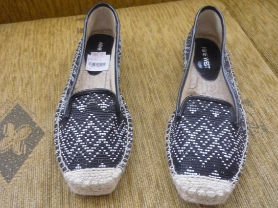 Zapatos Tipo Alpargata Marca Nine West En Tallas 5 Y 7,5