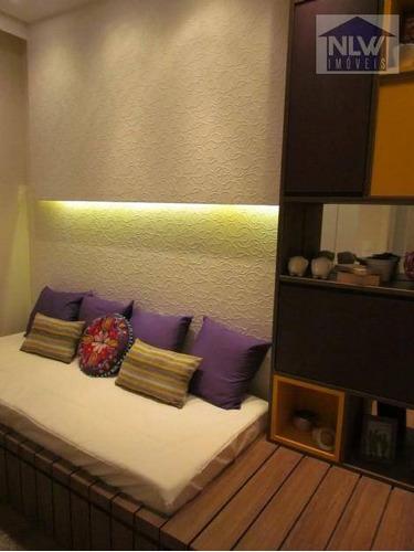 Apartamento Com 2 Dormitórios À Venda, 56 M² Por R$ 375.400,00 - Vila Caraguatá - São Paulo/sp - Ap2201