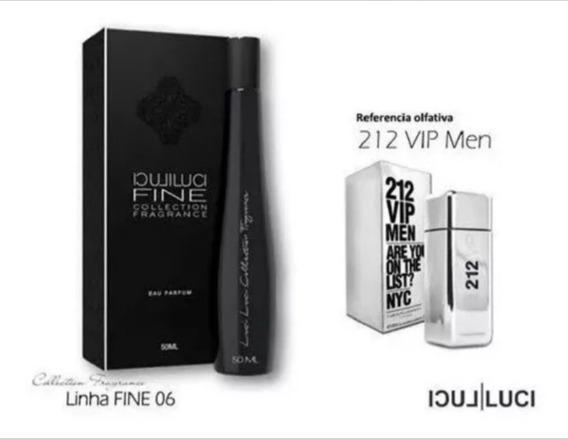 Perfume 212 Vip Men 50ml Envazado By Luci Luci