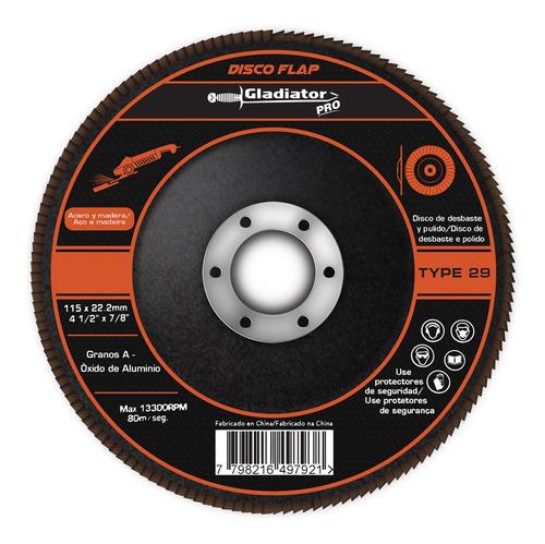 Imagen 1 de 2 de Discos Flap De Desbaste Y Pulido G. 36 (venta Mínima 10 Unid