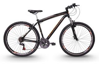 Bicicleta Track Black 29 Mountain Bike Aro 29 Seminova