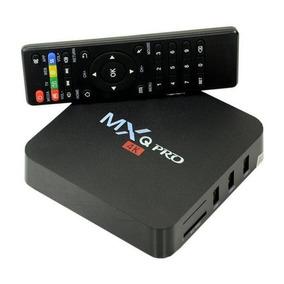 Conversor Smart Tvbox 4k 16gb 2g Saída Av/hdmi