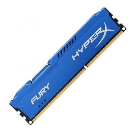 Memória Gamer Kingston Fury Hyperx 8gb Ddr3 1600mhz