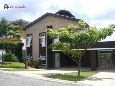 Casa Residencial Para Locação, Aldeia Da Serra, Residencial Morada Dos Lagos, Barueri. - Ca0218